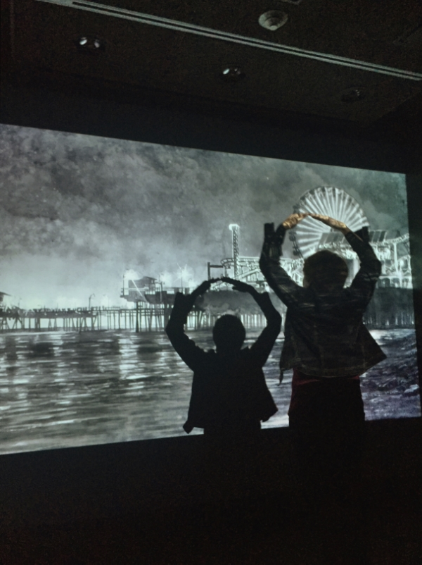 "Hans Op de Beeck's lyrical animation, Night Time : ""Seeing Now"" Exhibition at 21c Museum Hotel Durham"