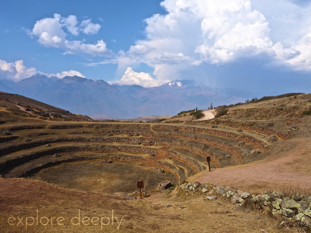 Sacred Inca Site : Moray