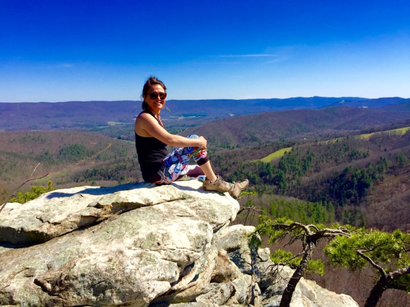 Seems I always find myself on top of a mountain when contemplating life and the meaning of it all, top of Cranny Crow overlook. April 17th 2016, 12 year anniversary.