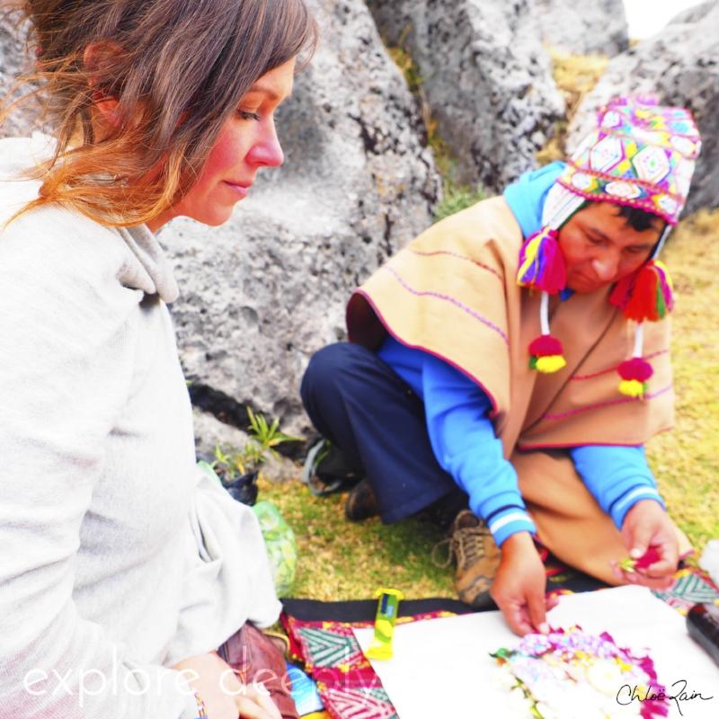 Initiation Ceremony : Cusco Peru