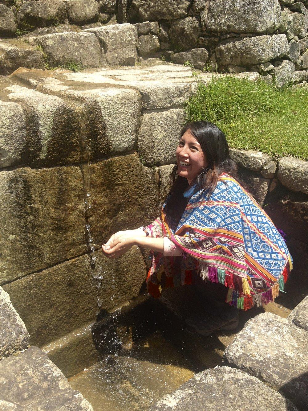 Q'orianka, Inka High Priestess
