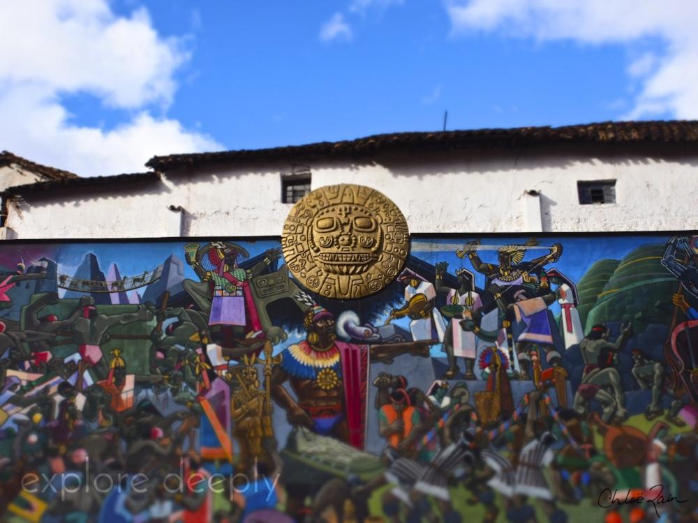 Avenue de Sol, Cuzco Peru