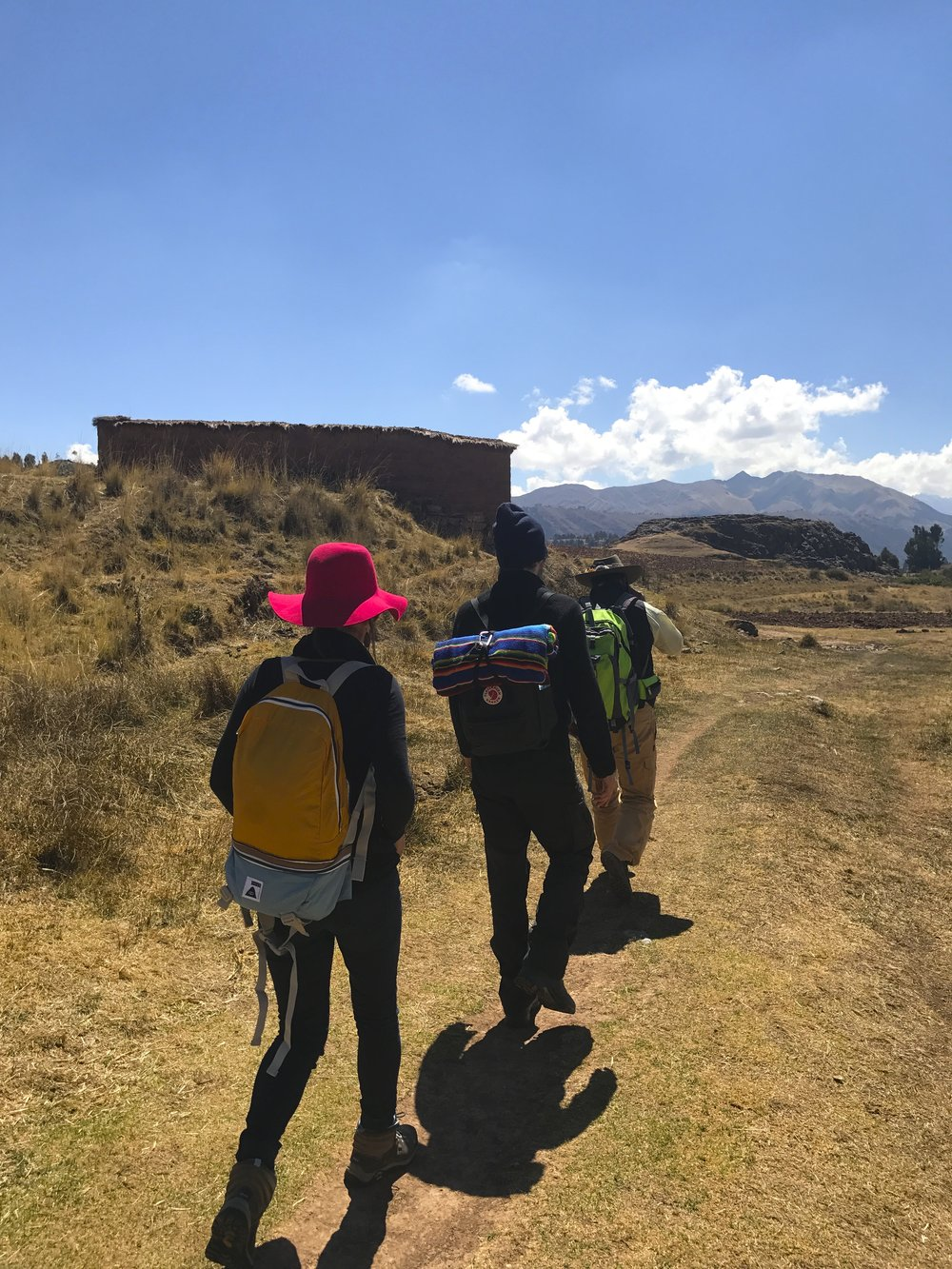 Treking to the Temple of the Moon, Cusco Peru.