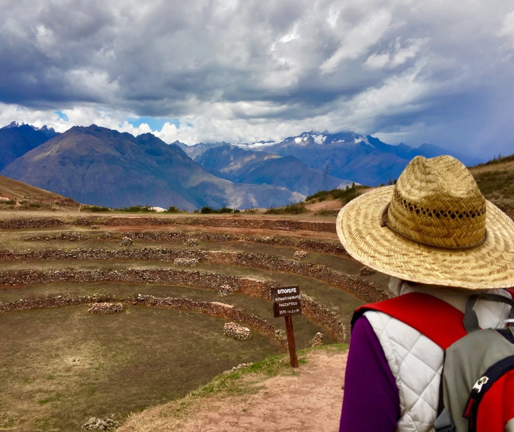 Moray sacred Inka site, Maras Peru