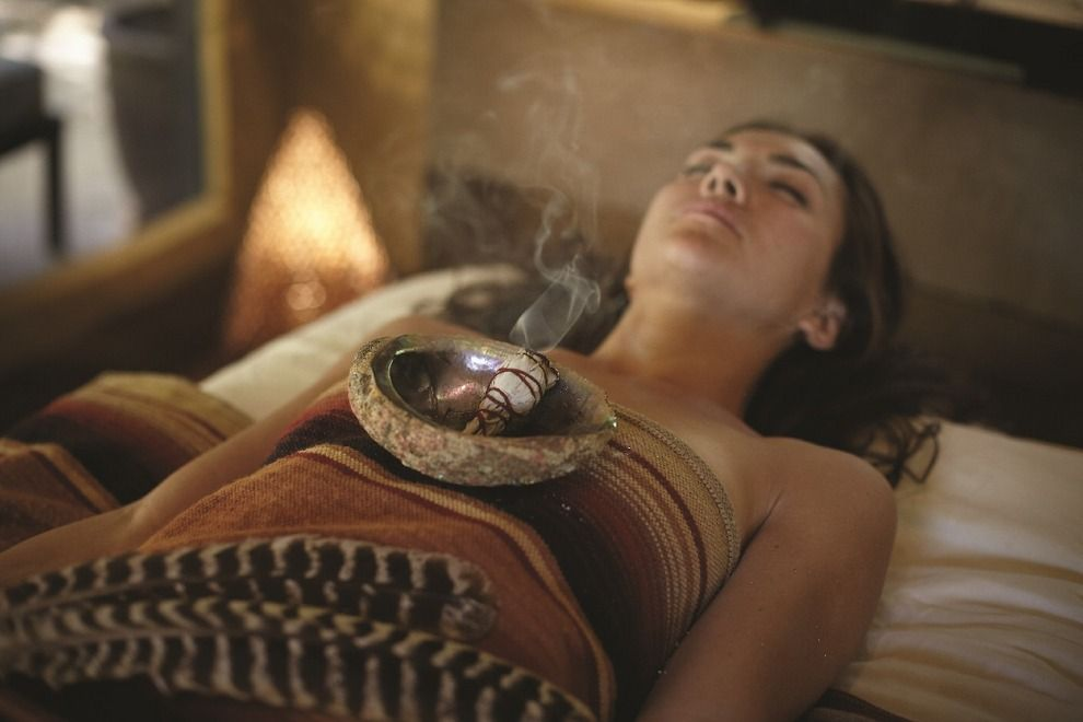 Stone Medicine Smudge Bowl on Chest.jpeg