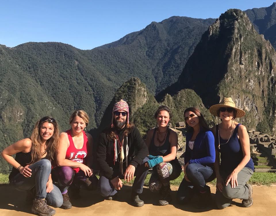 Machu Picchu Aya Vision Ceremony