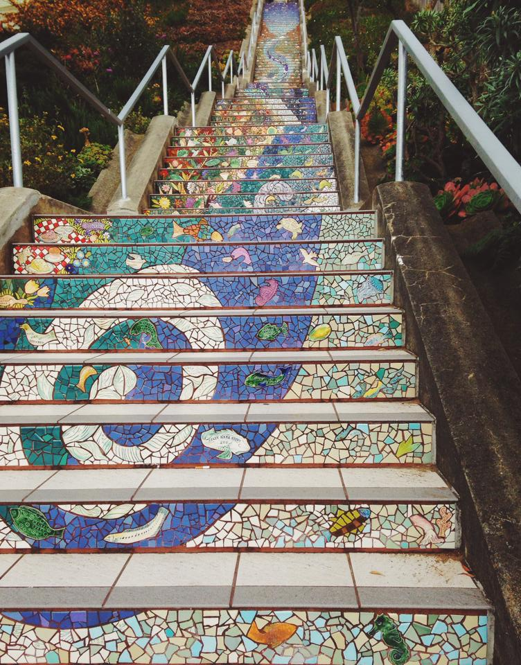 the mosaic staircase