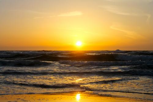 Sunset at Asilomar Beach, CA