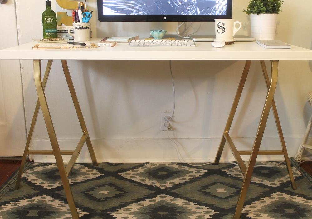 Ikea Desk Hack