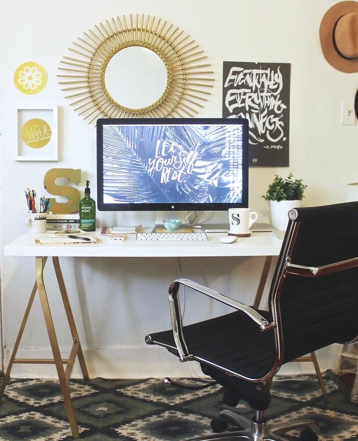 DIY Ikea Desk