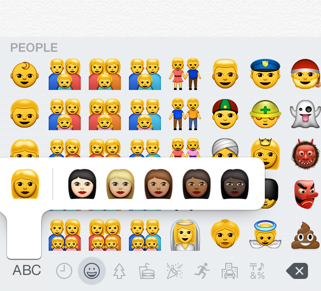 new emoji ios 8.3
