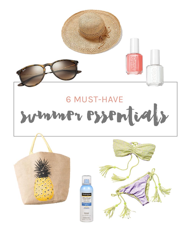 6 must-have summer essentials