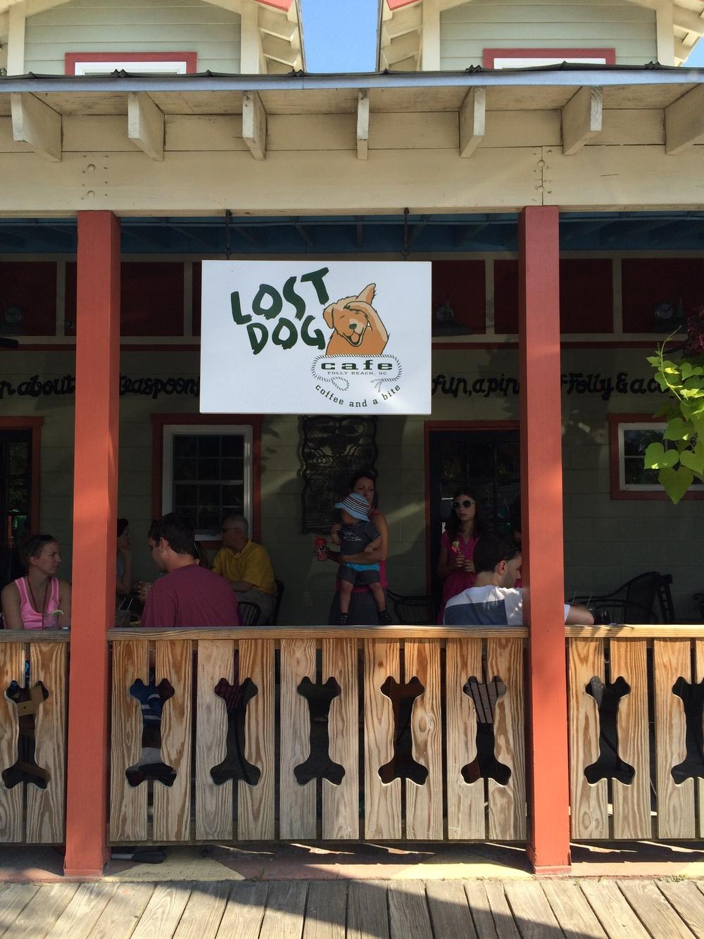 Lost Dog Cafe, Folly Beach
