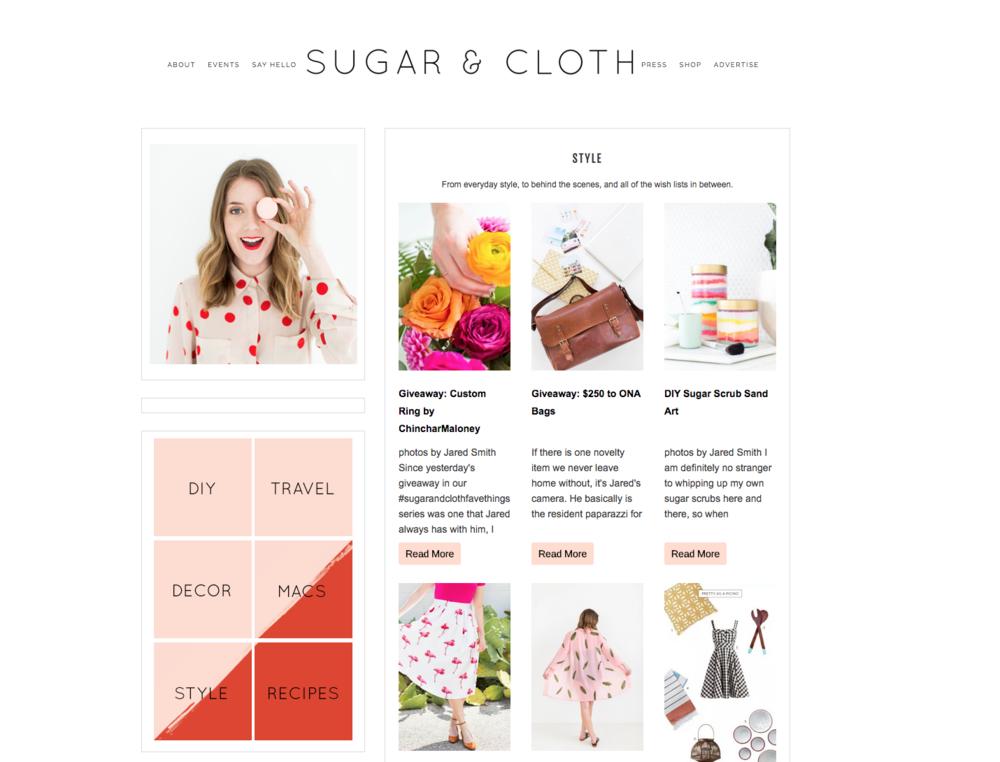 sugar&cloth