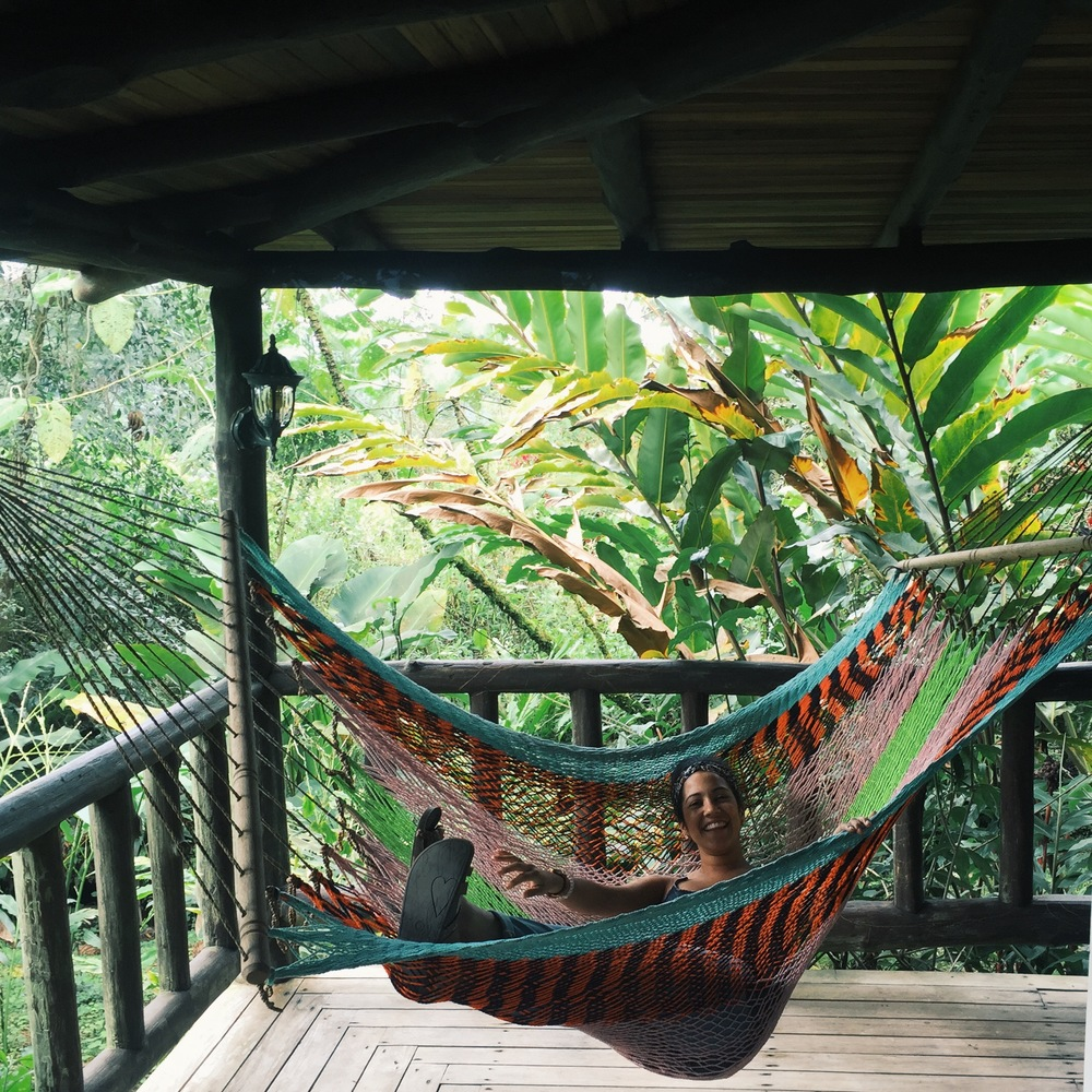 Hanging in the bungalows at Rancho Margot