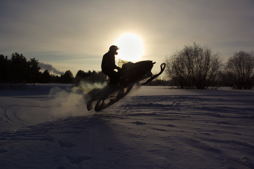 7. The snowmobile - invented by Joseph-Armand Bombardier in 1937.