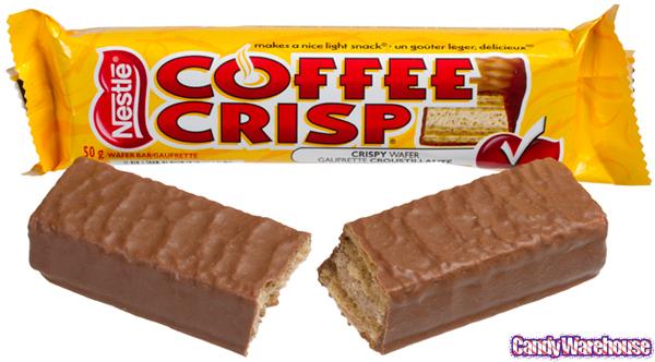 12. Coffee Crisp.