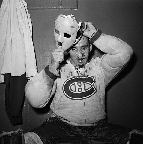 18. The goalie mask - invented by Jacques Plante in 1959.