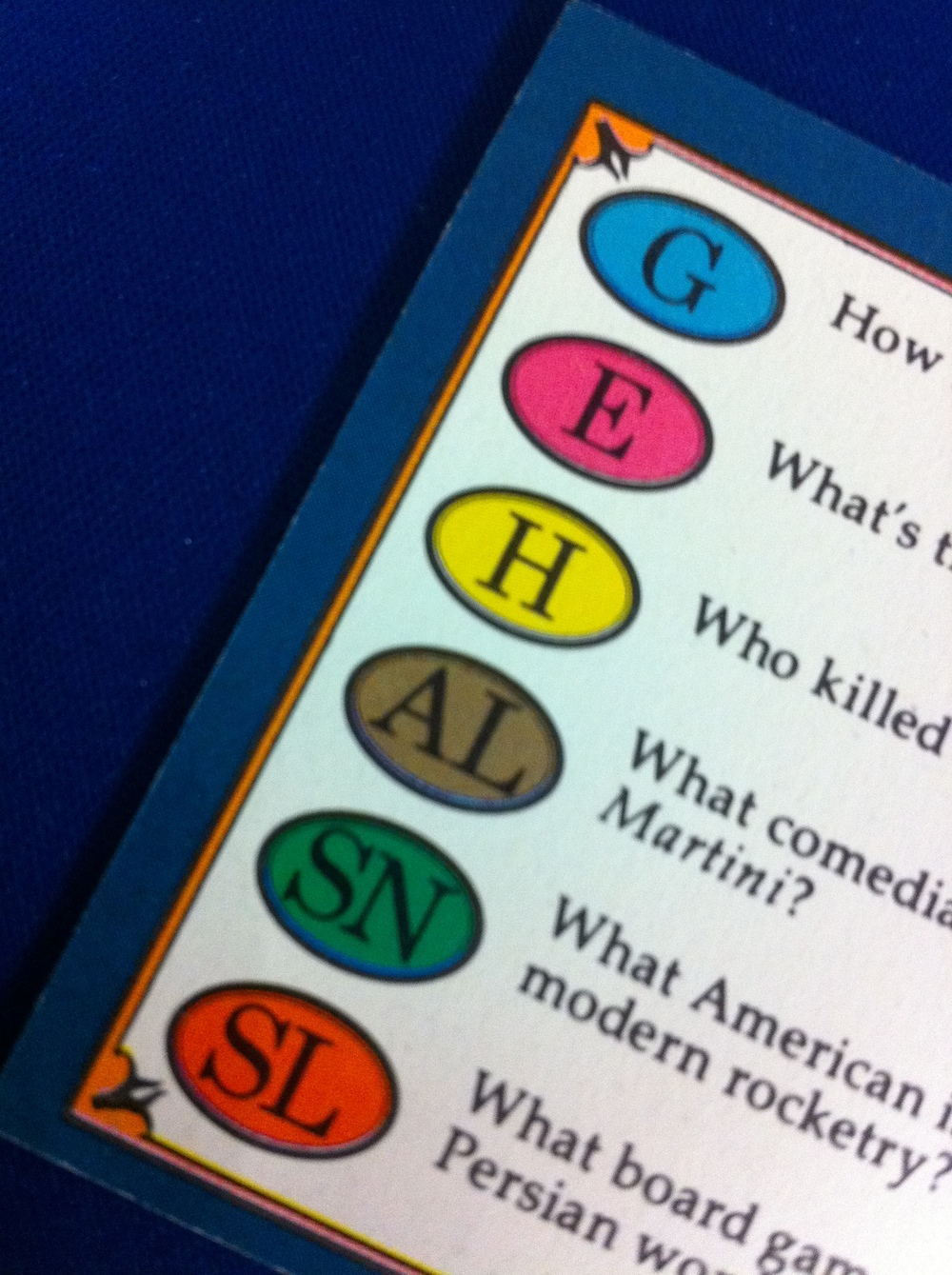 21. Trivial Pursuit - invented by Chris Haney and Scott Abbott in 1979.