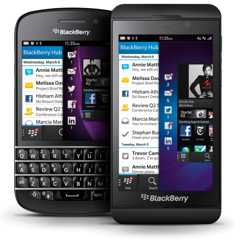 47. The BlackBerry - invented by Mike Lazaridis.