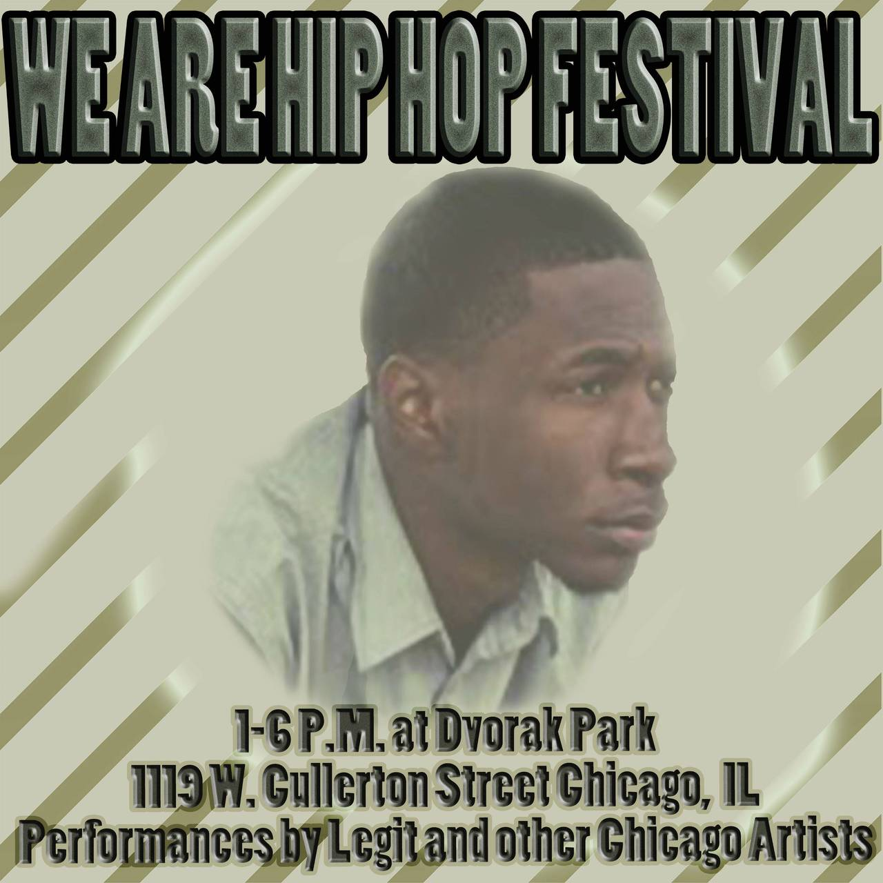 ONLY 2 MORE DAYS UNTIL THE WE R HIP HOP FESTIVAL! WHO'S COMING?