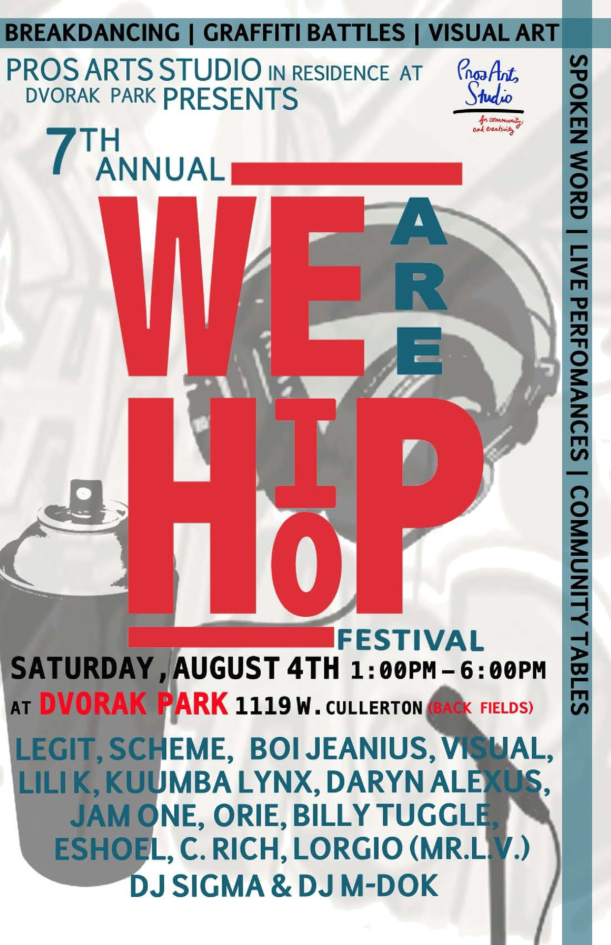 Our flyer is finally done! We hope to see you there!   Like us on Facebook:   https://www.facebook.com/wearehiphopfestival     Follow us on Twitter:  twitter.com/werhiphopfest