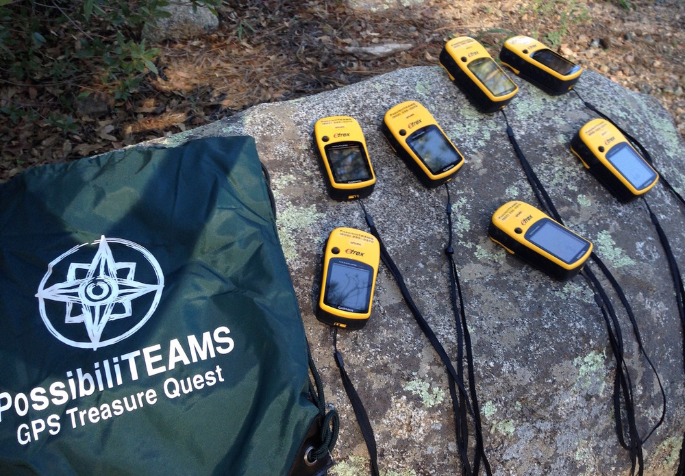 GPS Treasure Quest is an exciting team building geocaching race for work teams of all sizes