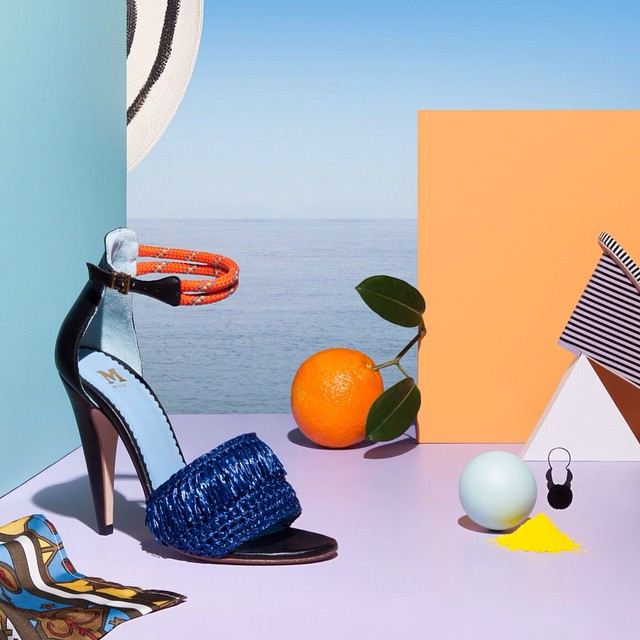 I'm working all weekend. Dreaming of this utopia I created for @jamesstbne and @thefsgroup with @annapogossova last year. #artdirection and #graphicdesign does not equal life. 🌴