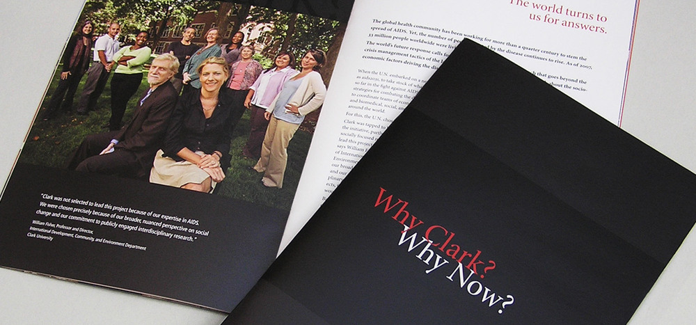Why Clark? Why Now?  pre-campaign brochure
