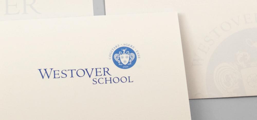 Westover School stationery system