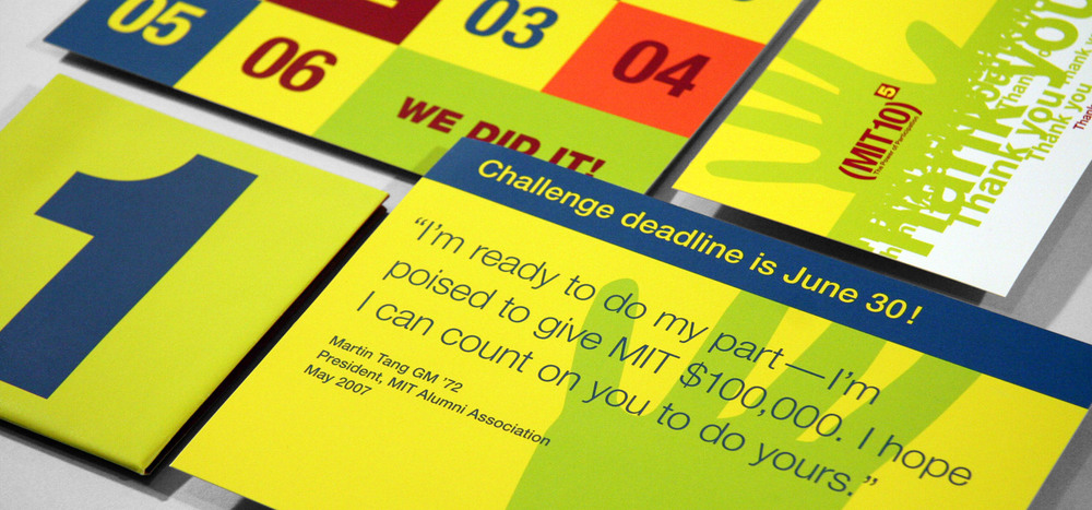 MIT Power of Participation campaign materials (print & web)