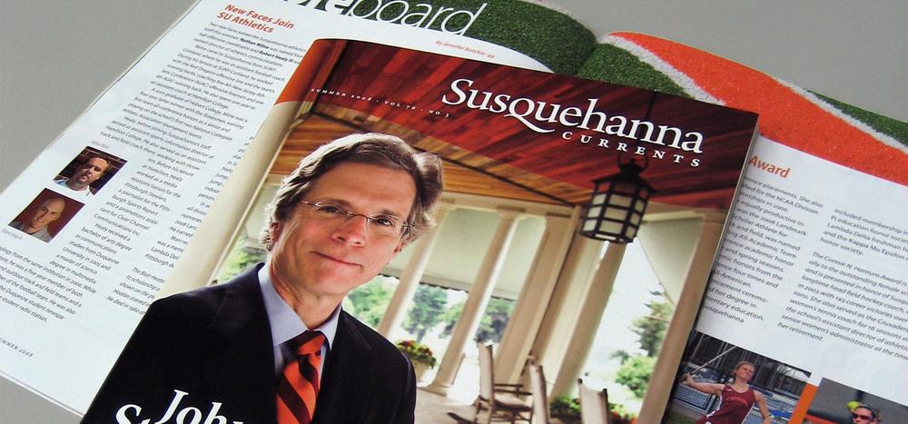 Susquehanna Currents alumni magazine