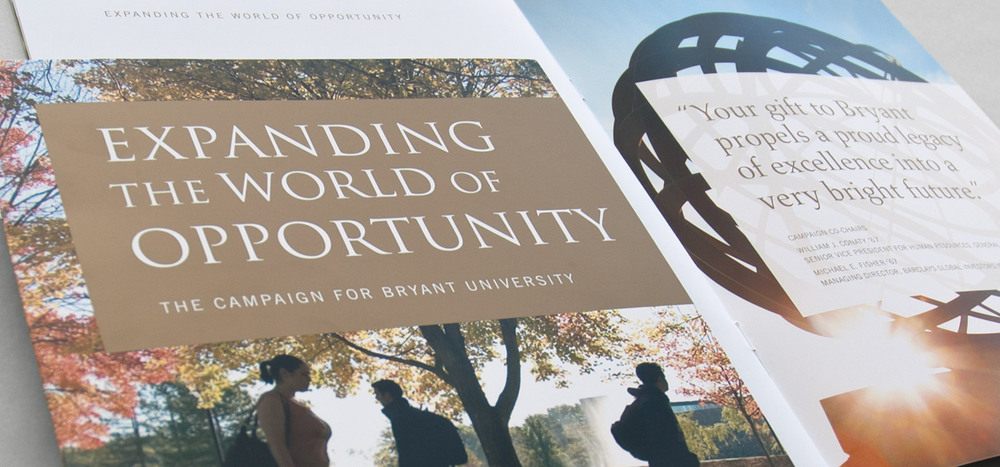 Expanding the World of Opportunity campaign publication