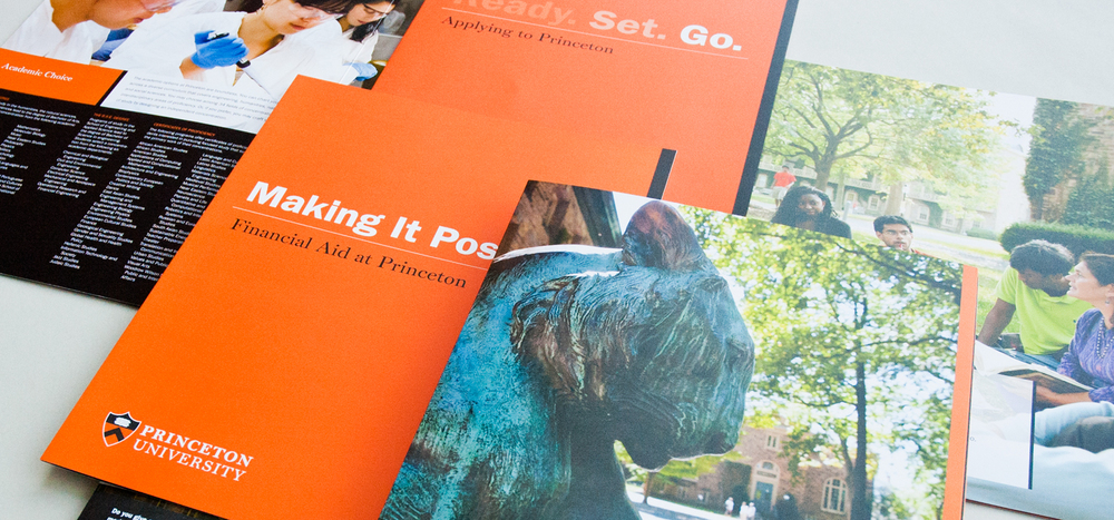 Princeton at a Glance admissions brochure
