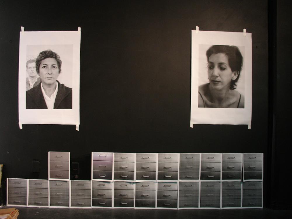 Retrato de Consuelo Castaneda y Liz 2009.JPG