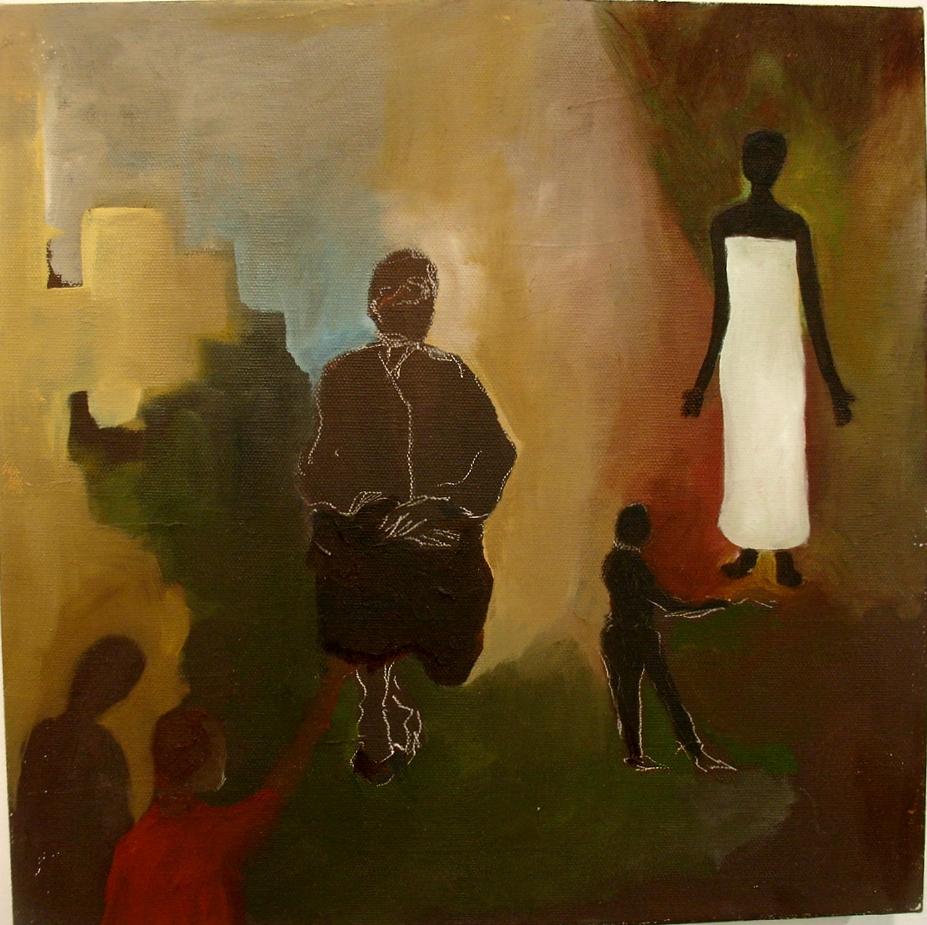Triunfo de la razon. 2012 12x12 oil/canvas