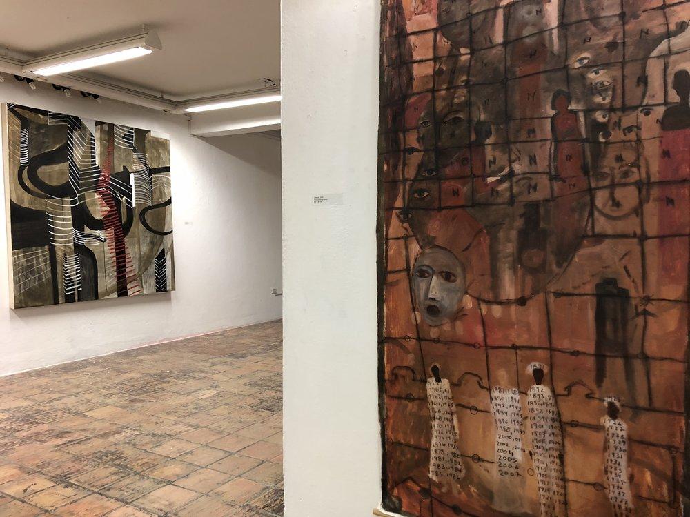 Marcando el Tiempo. Solo Exhibition.