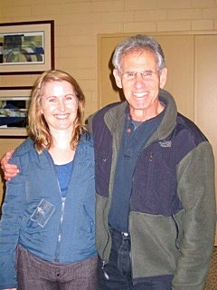 With Dr Jon Kabat-Zinn, Founder of the Mindfulness Based Stress Reduction (MBSR) course in 2009.