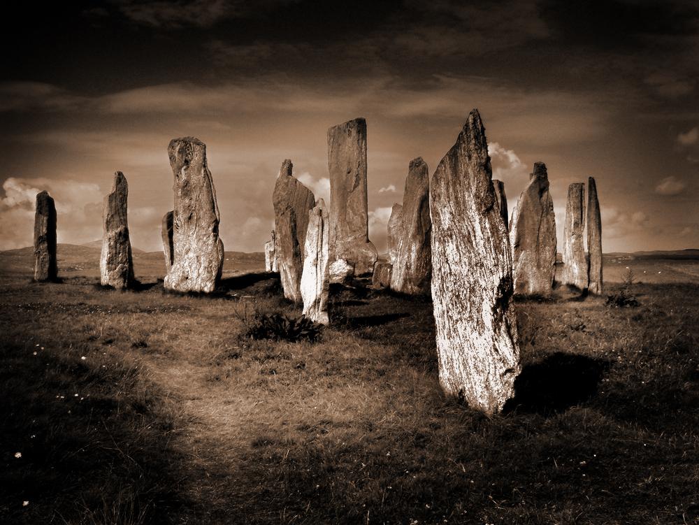 Calanais Standing Stones, Lewis.