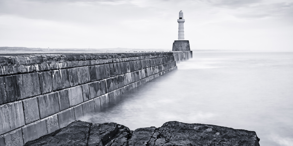 Aberdeen Harbour South Breakwater