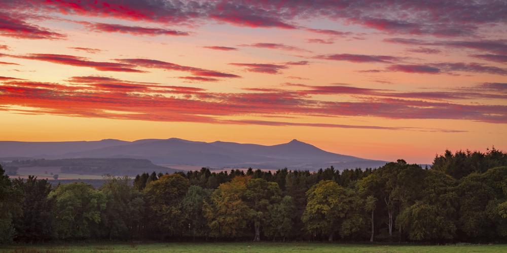 Bennachie Sunset