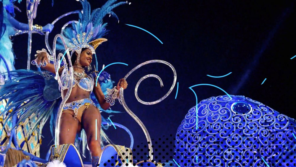 motion graphic design | Olympic Late Night | Rio 2016