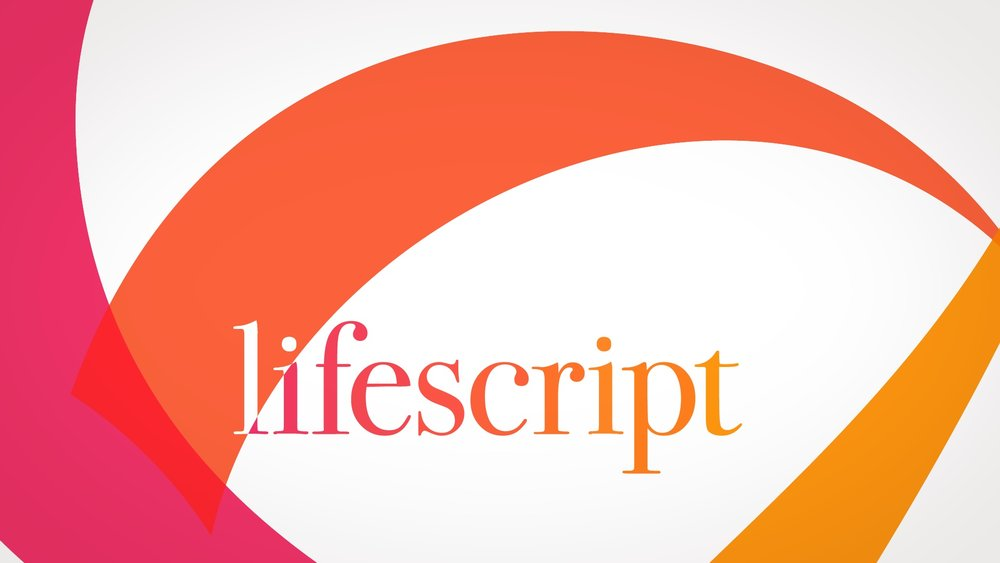 network logo ID | Lifescript-tv | motion graphic design company: jonberrydesign