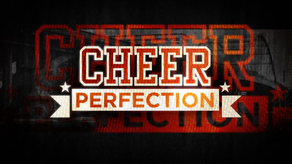 tv main title design | Cheer Perfection | jonberrydesign