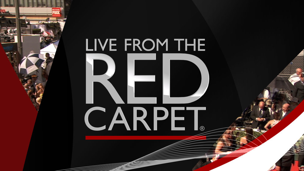 tv graphics package design | Live from the Red Carpet | jonberrydesign
