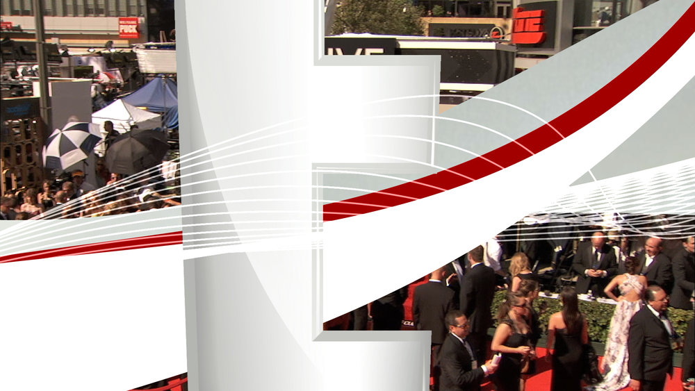 broadcast design | Live from the Red Carpet | jonberrydesign