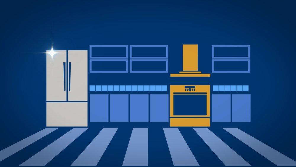 main title design | Fix This Kitchen | jonberrydesign