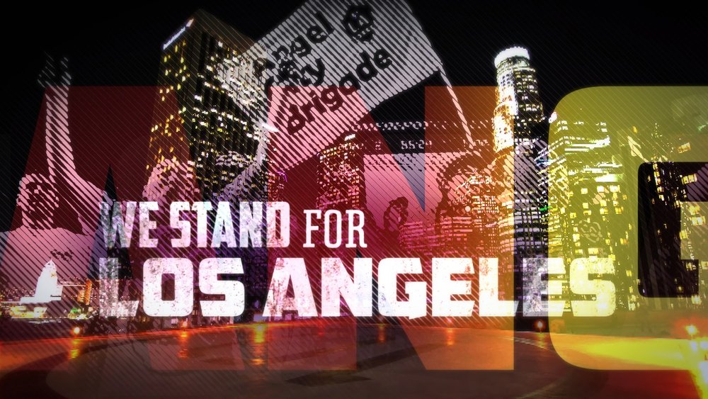 We Stand for Los Angeles | motion graphic design company jonberrydesign