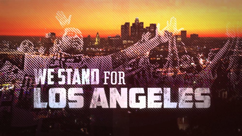WE STAND FOR LA - ANGEL CITY BRIGADE