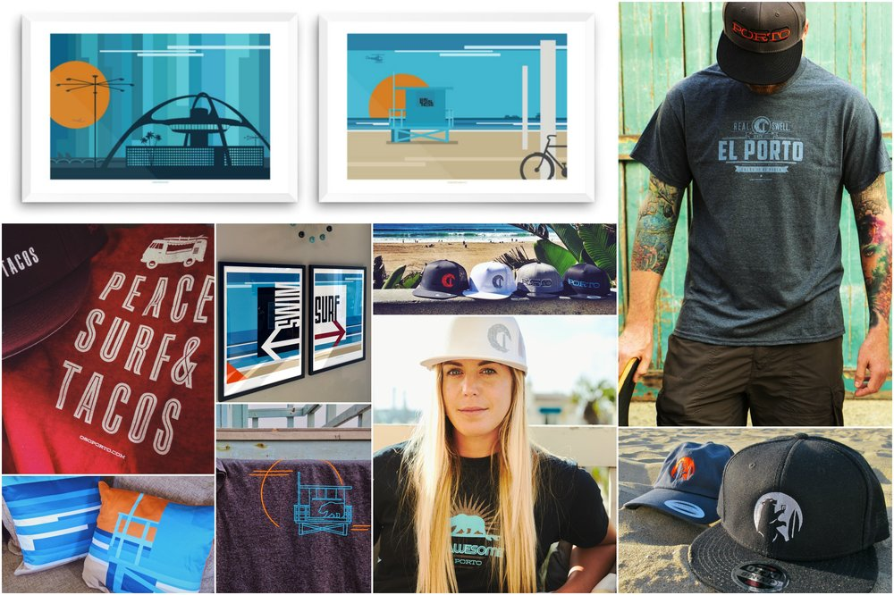 OsoPorto shirts, art, hats | jonberrydesign